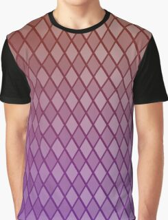 Diamonds Or-Pink Graphic T-Shirt