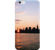 Manhattanhenge iPhone Case/Skin