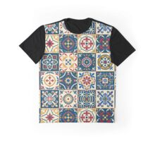 Moroccan Tiles Pattern Graphic T-Shirt