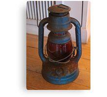 Rustic Lantern Canvas Print