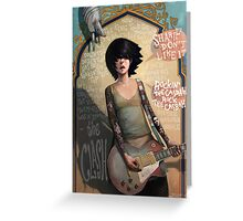 Rock the Casbah Greeting Card