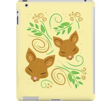 deer sleeping pattern iPad Case/Skin