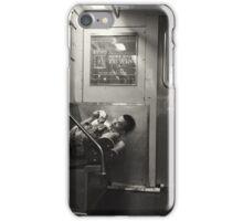 Subway comfort iPhone Case/Skin