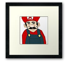 Brother, Mario Framed Print