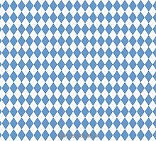 UNC Argyle Carolina Blue Tarheel by Carolina Swagger