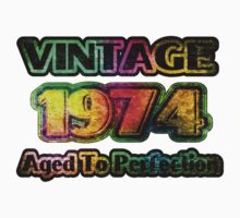 Vintage 1974 – Aged To Perfection One Piece - Short Sleeve