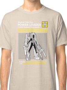 Power Loader Service and Repair Manual Classic T-Shirt