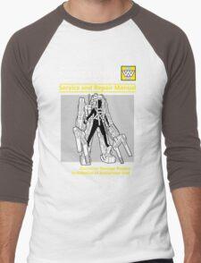 Power Loader Service and Repair Manual Men's Baseball ¾ T-Shirt