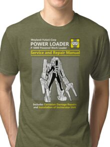 Power Loader Service and Repair Manual Tri-blend T-Shirt
