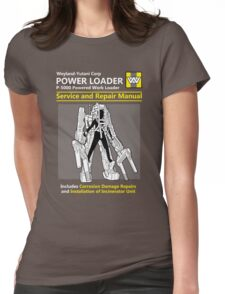 Power Loader Service and Repair Manual Womens Fitted T-Shirt