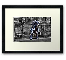 They Walk Among Us! Framed Print