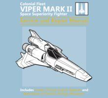 Viper Mark II Service and Repair Manual Kids Tee