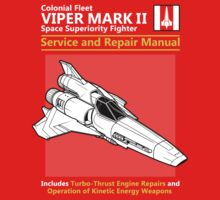 Viper Mark II Service and Repair Manual One Piece - Long Sleeve