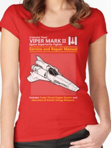Viper Mark II Service and Repair Manual Women's Fitted Scoop T-Shirt