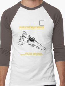 Viper Mark II Service and Repair Manual Men's Baseball ¾ T-Shirt