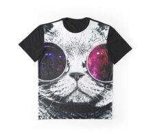 Retro Cat Graphic T-Shirt
