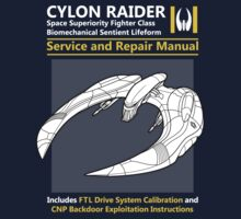 Cylon Raider Service and Repair Manual One Piece - Short Sleeve