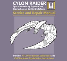 Cylon Raider Service and Repair Manual Kids Clothes