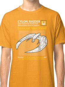 Cylon Raider Service and Repair Manual Classic T-Shirt