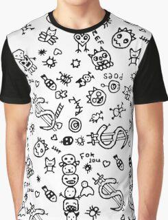 DOODLES Graphic T-Shirt