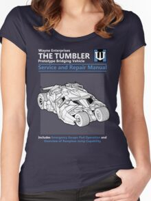 Bridging Vehicle Service and Repair Manual Women's Fitted Scoop T-Shirt