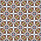 Wooden Cross Screen Pattern by PETER GROSS