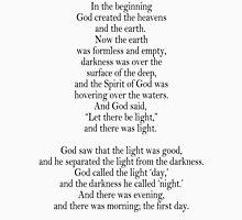 Bible, Genesis 1:1, God, Biblical, Book of Genesis, In the Beginning Unisex T-Shirt