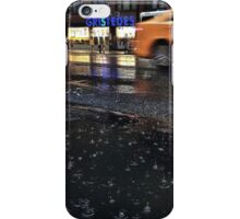 Driving in the rain iPhone Case/Skin
