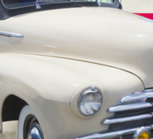 1948 Chevrolet Fleetmaster Car With American Flag Sticker