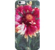 Pink flower, pink life iPhone Case/Skin