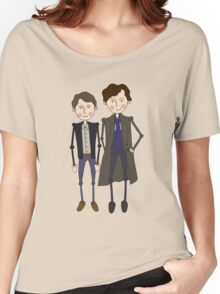 Benedict Cumberbatch's Sherlock inspired design Women's Relaxed Fit T-Shirt
