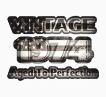 Vintage 1974 – Aged To Perfection Kids Tee