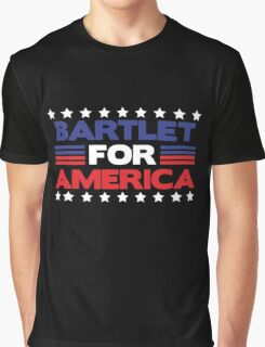 Bartlet For America political shirt Graphic T-Shirt
