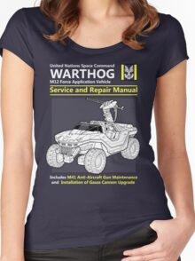 Warthog Service and Repair Manual Women's Fitted Scoop T-Shirt