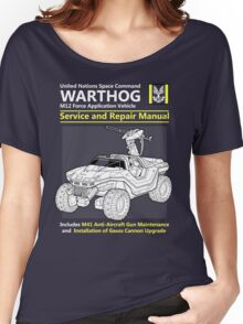 Warthog Service and Repair Manual Women's Relaxed Fit T-Shirt