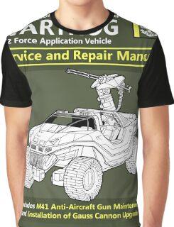 Warthog Service and Repair Manual Graphic T-Shirt