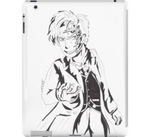 Mr Clever - Black and White iPad Case/Skin