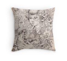 Irezumi Throw Pillow
