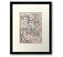 Irezumi Framed Print