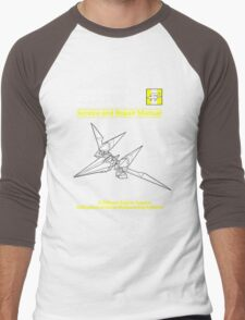 Arwing Service and Repair Manual Men's Baseball ¾ T-Shirt