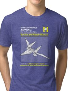 Arwing Service and Repair Manual Tri-blend T-Shirt