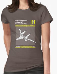 Arwing Service and Repair Manual Womens Fitted T-Shirt