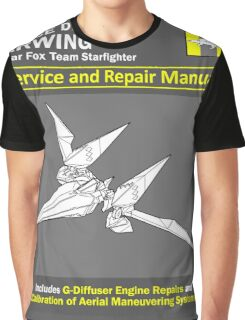 Arwing Service and Repair Manual Graphic T-Shirt
