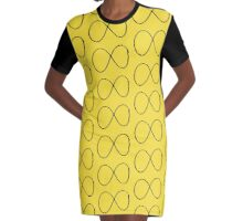 infinity 4 Graphic T-Shirt Dress
