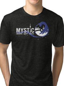 Team Mystic Toronto [2] [white text] Tri-blend T-Shirt