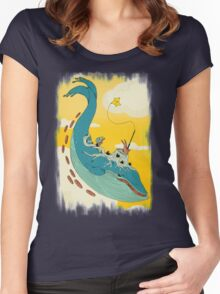 100 leagues Women's Fitted Scoop T-Shirt
