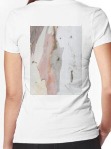 TREE, BARK, TEXTURE, color, Eco, Ecology, Nature, Natural World Women's Fitted V-Neck T-Shirt