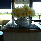 DAFFODILS_LAKE CAFE_GOSPORT_HAMPSHIRE_UK by Kay Cunningham