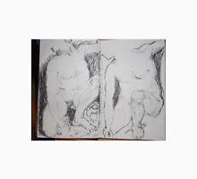 Drawing: Narcissus/4 of 4 -(260312)- black ink/A5 sketchbook/digital photo Unisex T-Shirt
