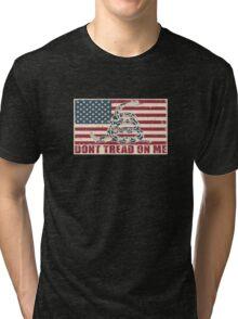 Don't Tread On Me Tri-blend T-Shirt